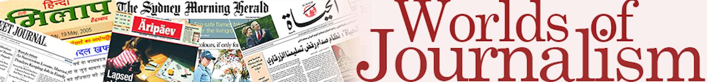 Bildergebnis für worlds of journalism study